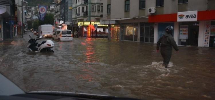 Central Fethiye flooded November 2014