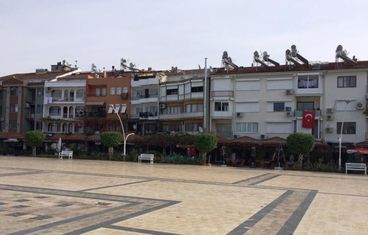 Fethiye Leaning Buildings